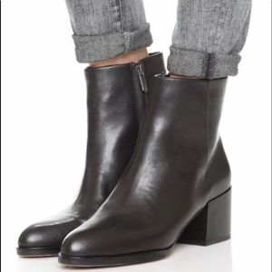 Sam Edelman JOEY black leather ankle bootie